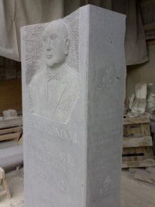 Buste Henri Mondor