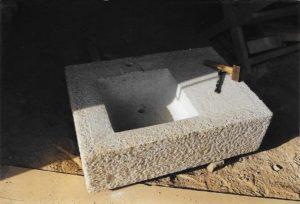 evier granit